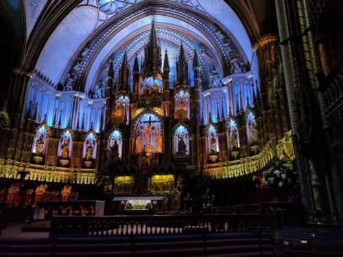 Basilique Notre-Dame de Montréal